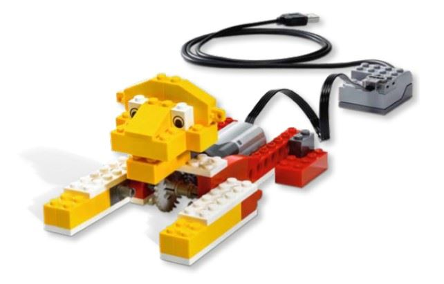 Picture of a Lego WeDo Roaring Lion