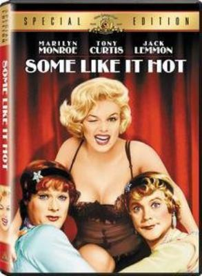 DVD cover of Some Like it Hot showing Marilyn Monroe