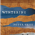 Book cover of Wintering by Peter Geye showing two people in canoe in river