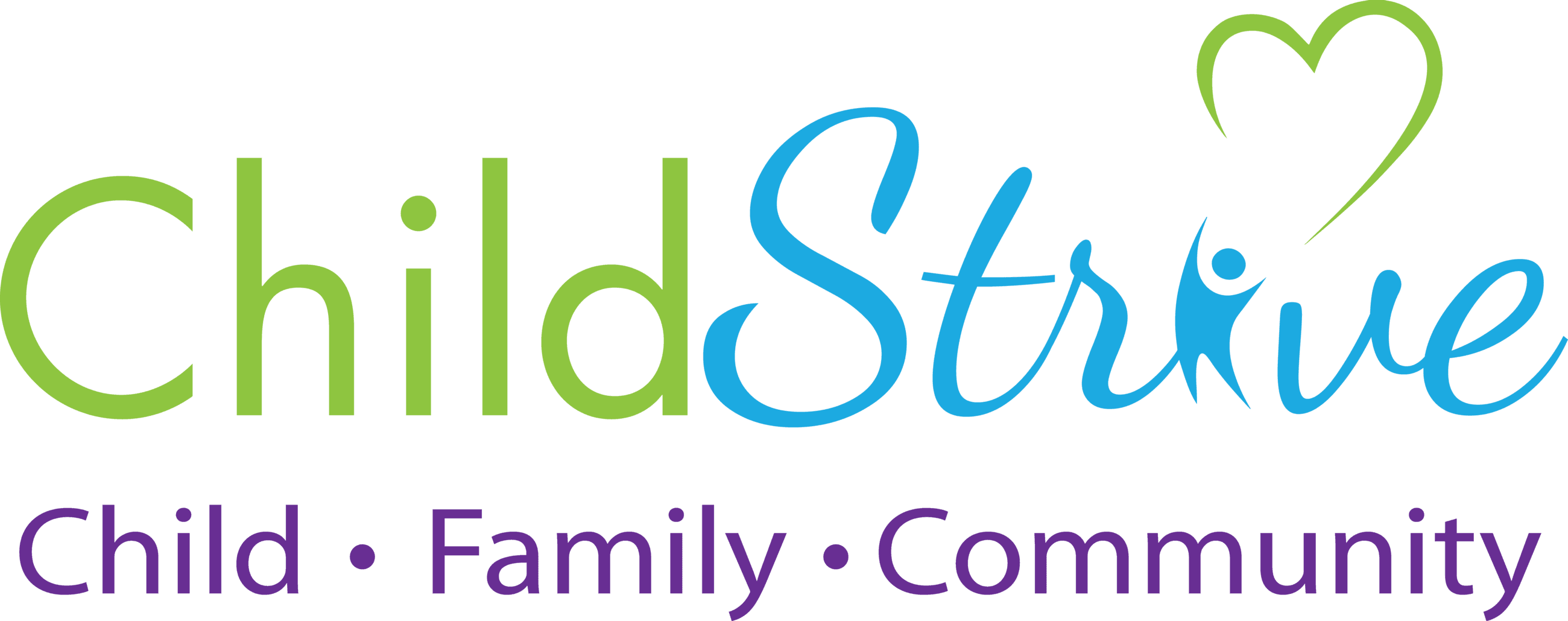 ChildStrive Logo Child, Family, Community