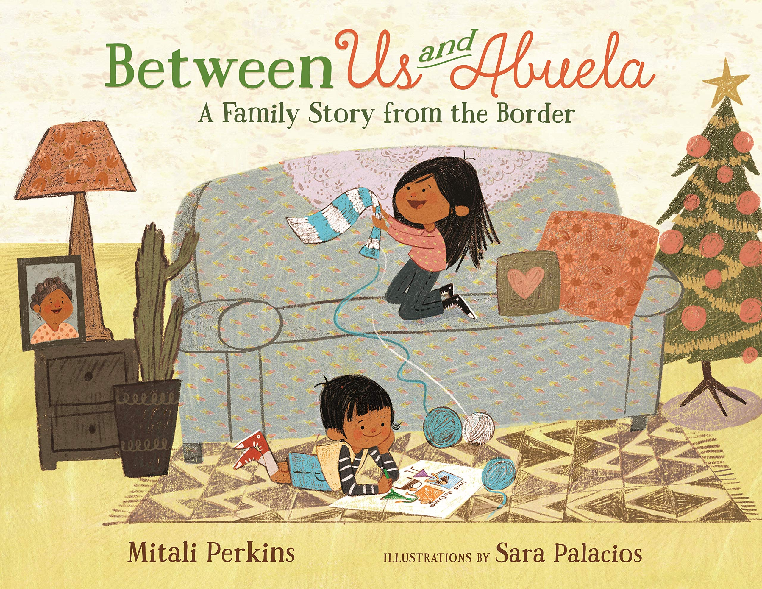 Between us and Abuela cover