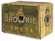 Green Brownie Camera by Eastman Kodak