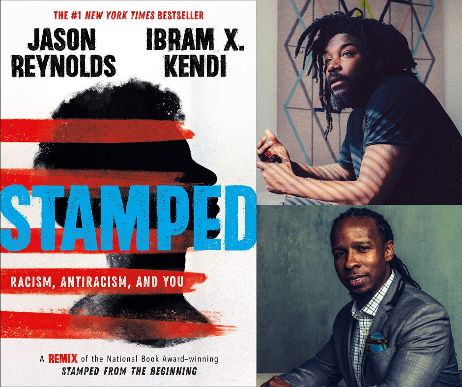 Stamped Book Cover. Jason Reynolds and Ibram X. Kendi