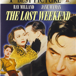 DVD cover of the movie The Lost Weekend