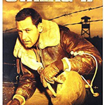 DVD cover of the movie Stalag 17 showing William Holden wearing a leather jacket