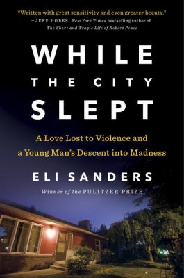 Cover of the book While the City Slept showing small home at night time