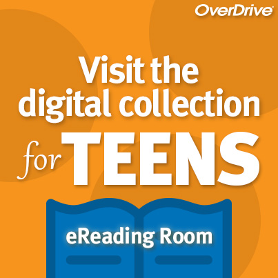 Link to Everett Public Libary's Overdrive collection for teens. Opens in new window